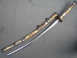 Collectable-WWII-Japanese-Samurai-Katana-DAO-sword-Free-Shipping
