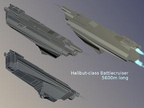 Halibut class battlecruiser by scorxius-d37c7ch
