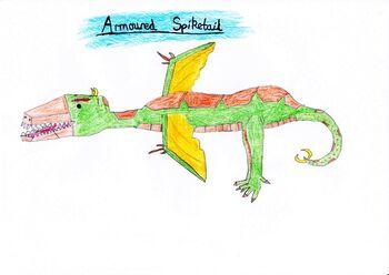 Armoured Spiketail