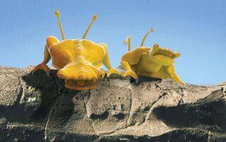 Yellow Aliens