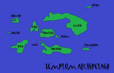 Templum map