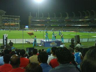 IPL Match -- Dr. D Y Patil Stadium