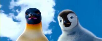 Mumble and Gloria Happy Feet 2