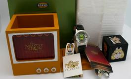 Fossil kermit watch set