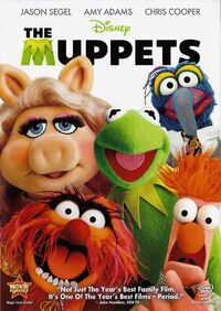 The Muppets 2011 DVD