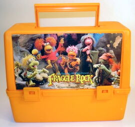 Canadian thermos products fraggle rock lunchbox 1984