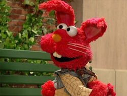 Elmo-redrabbit