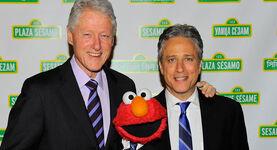 2012 Sesame Gala Bill Clinton Jon Stewart