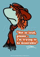 Poster Fraggle Rock-Not So Loud Please, I'm Trying To Be Miserable