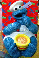 Enesco1993CookieMonsterJar
