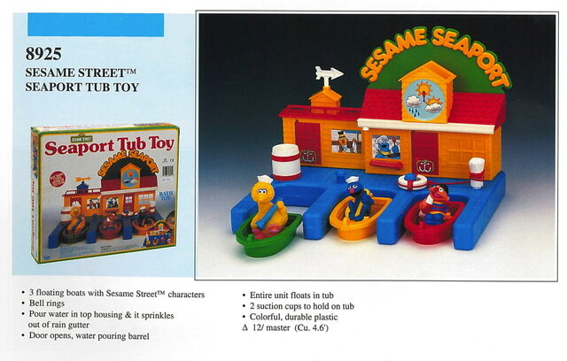 File:Illco 1992 bath toys sesame seaport tub toy.jpg