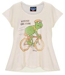 Junk food disney store 2011 shirt kermit bicycle