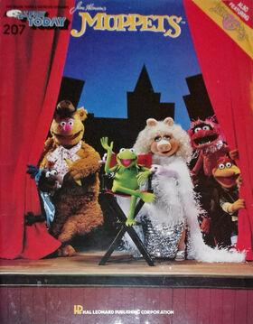 Muppets sheet music 01