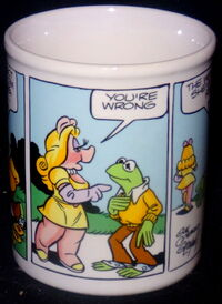 Enesco 1983 comic strip mug 2