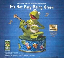 Franklin mint 1999 being green music box