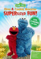 Elmo and Cookie Monster Supersized Fun