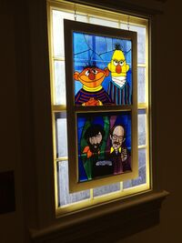 Center for Puppetry Arts - Ernie & Bert Window
