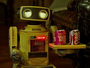 80s Robot Tab Coke