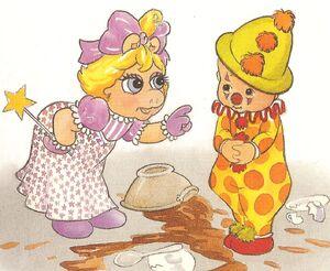 Oliver clown