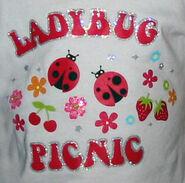 Tshirt.ladybugpicnic