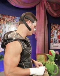Kermit and Cody Rhodes