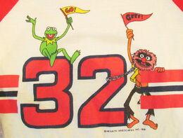 Billy the kid 1981 muppet baseball shirt 2