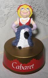 Cabaret piggy music box