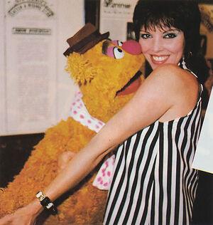 Pat Benatar and Fozzie Bear