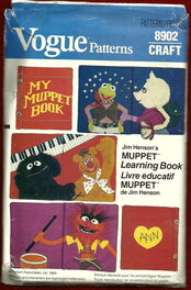 Muppet book pattern