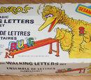 Sesame Street Walking Letters