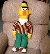Knickerbocker 1975 bert rag doll 27 inch 2