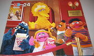 Milton bradley sesame puzzle movie theater
