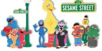 Sesame Street scrapbook accessories