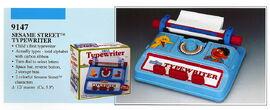 Illco 1992 preschool toys dial typewriter