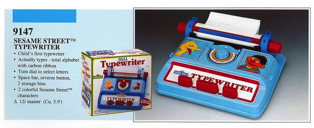 File:Illco 1992 preschool toys dial typewriter.jpg