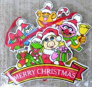 Kurt adler muppet ornament flat merry christmas