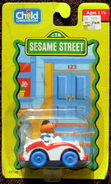 Child dimension die-cast ernie sports car
