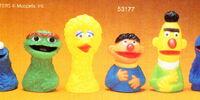 Sesame Street finger puppets (CBS Toys)