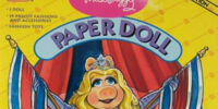 Miss Piggy Paper Doll (Golden)
