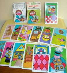Shape cards sest