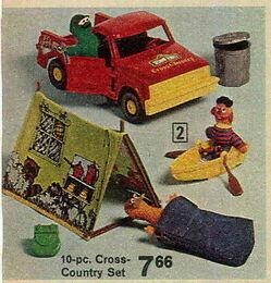 Knickerbocker 1976 cross-country set