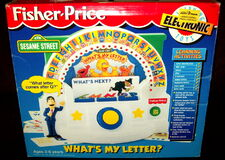 Fisher-price 1995 what's my letter electronic game 1