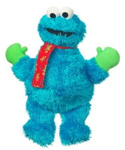 Hasbro 2011 winter plush cookie monster