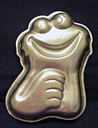 Wilton1977CookieMonsterSmallCakepan