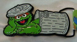 Bioworld oscar grouch belt