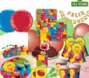 Vila Sésamo party supplies