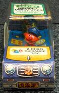 Child guidance muppet miniatures sesame pvc police car 2