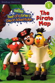 Bert ernie chapter book pirate map