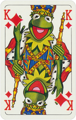 1978 playing cards King Diamonds