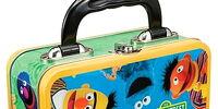 Sesame Street tin boxes (Vandor)